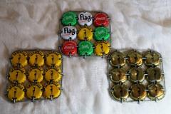 Objets réalisés en capsules